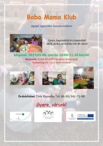 ÚJ Baba Mama Klub 2019.05.08.